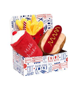 Urban Pup Urban Pup Hotdog Meal Deal Box (3 Toy Combo)