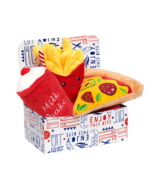 Urban Pup Urban Pup Pizza Meal Deal Box (3 Toy Combo)