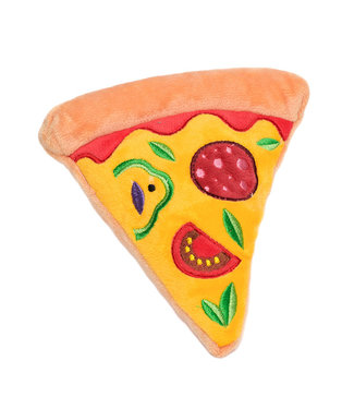 Urban Pup Urban Pup Pizza Plush & Squeaky Dog Toy