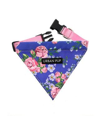 Urban Pup Urban Pup Pink/Blue Floral  Bandana