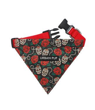 Urban Pup Urban Pup Skull & Roses  Bandana