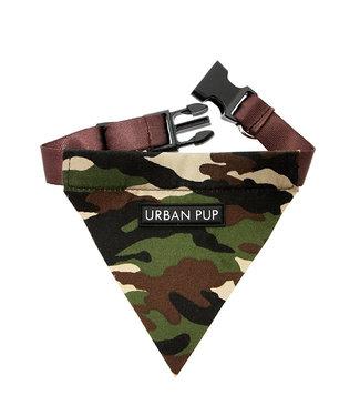 Urban Pup Urban Pup Camouflage Green Bandana