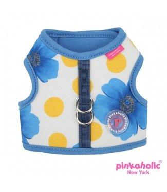 Pinkaholic Pinkaholic Peonies Pinka Harness Blue
