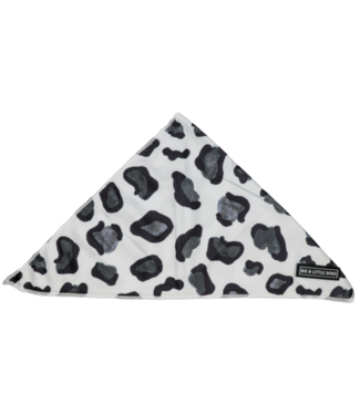 Big and Little Dogs Big  and Little dogs Bandana Grey Leopard