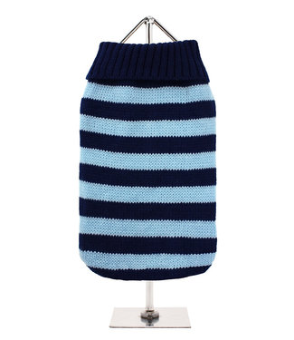 Urban Pup Urban Pup Oxford Blue Stripe Sweater