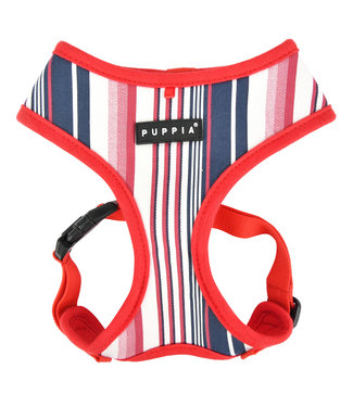 Puppia Puppia Caiden Harness Model A red