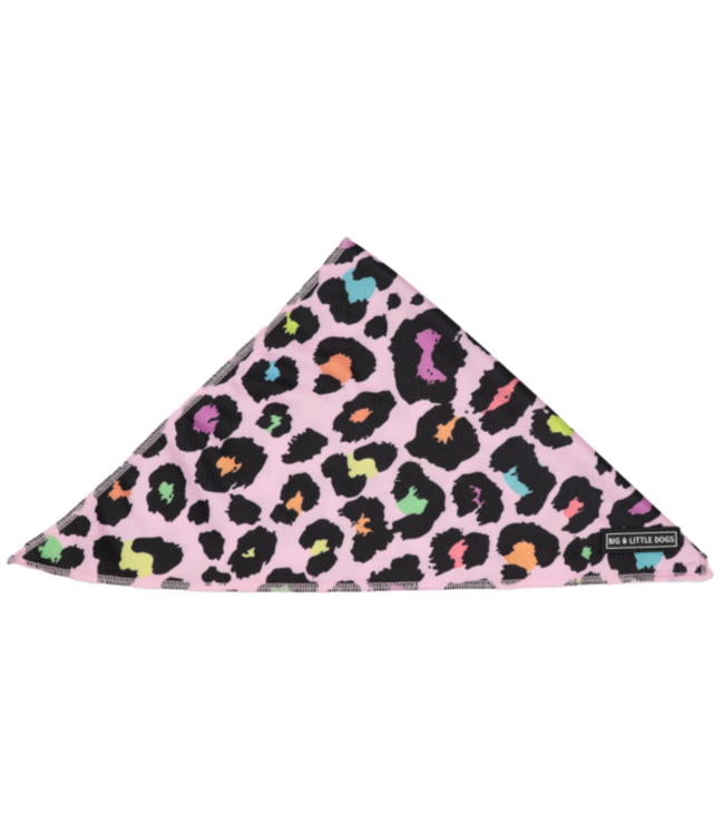 Big and Little Dogs Big  and Little dogs Bandana  Spotted Leopard