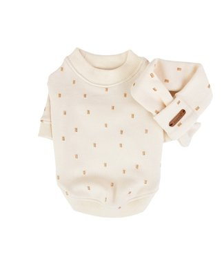 Puppia Puppia Sweater Orabel with Scarf Ivory