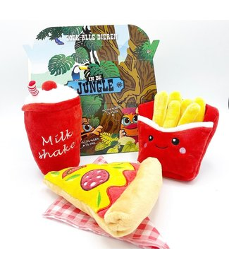 Frenkiez Frenkiez Pizza Meal Box (3 Toyz )