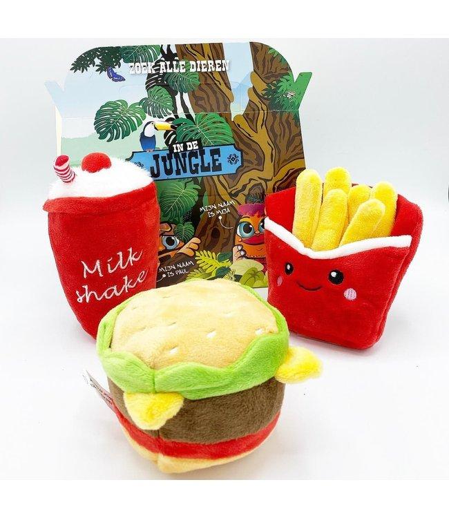 Frenkiez Frenkiez Hamburger Meal Box (3 Toyz )