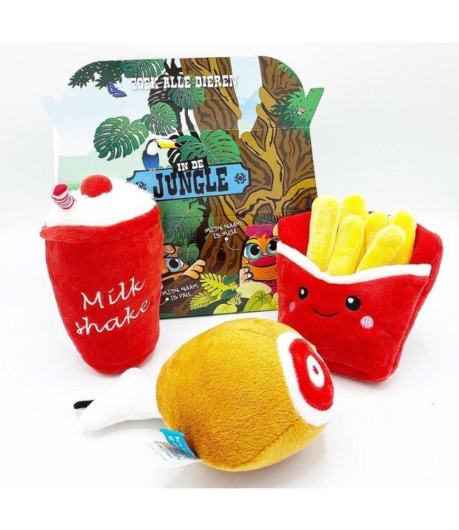 Frenkiez Frenkiez Chicken Meal Box (3 Toyz )