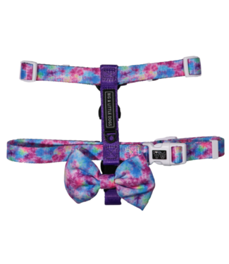 Big and Little Dogs Big and Little Dogs Strap Harness Tie Dye For
