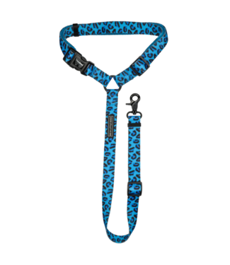 Big and Little Dogs Big and Little Dogs premium autogordel Blue Leopard
