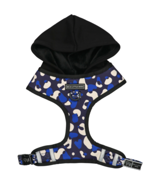 Big and Little Dogs Big and Little Dogs Hoody Harness Winter Blues