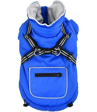 Puppia Puppia Mallory Jacket Harness Royal Blue