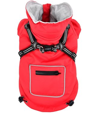 Puppia Puppia Mallory Jacket Harness Red