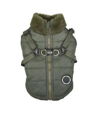 Puppia Puppia Donavan Jacket Harness Khaki