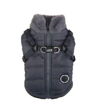 Puppia Puppia Donavan Jacket Harness Grey