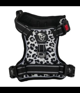 Frenkiez Frenkiez reflective no pull comfort harness Snow Leopard