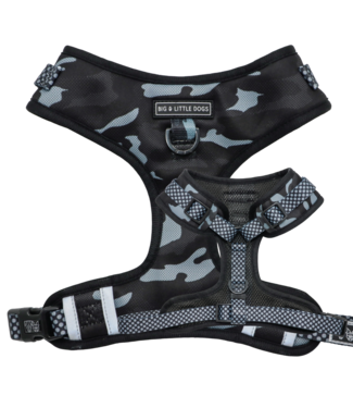 Big and Little Dogs Big and Little Dogs Adjustable Black Camo