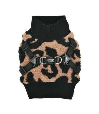 Puppia Puppia Sweater Harness J Serval Beige