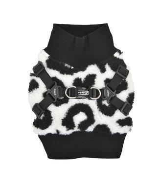 Puppia Puppia Sweater Harness J Serval Black