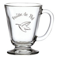 Tea glass Feuille de The