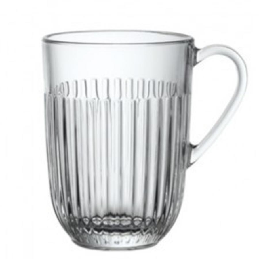 Tea glass stripe large