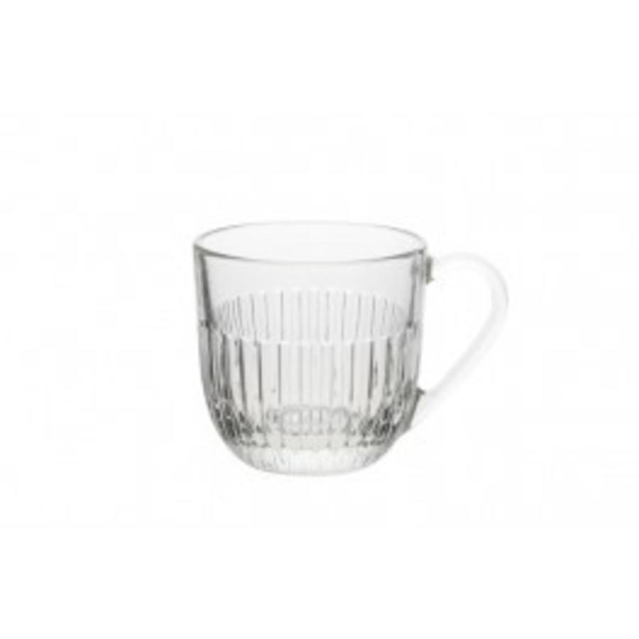 Tea glass low stripe