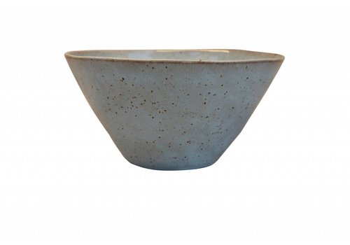 Salad bowl stone sea green