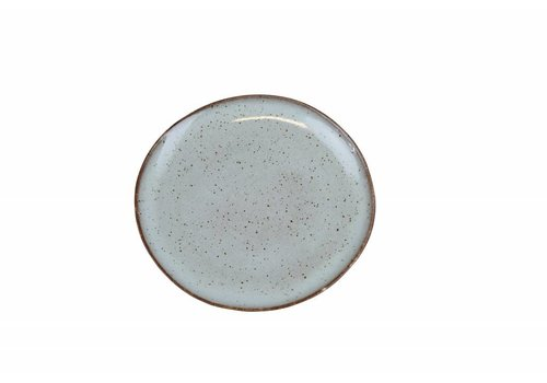 Breakfast plate Stone sea green
