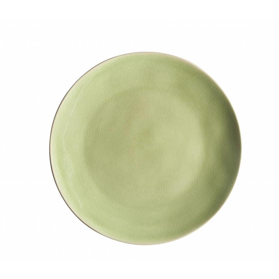 Dinner plate riviera vert frais