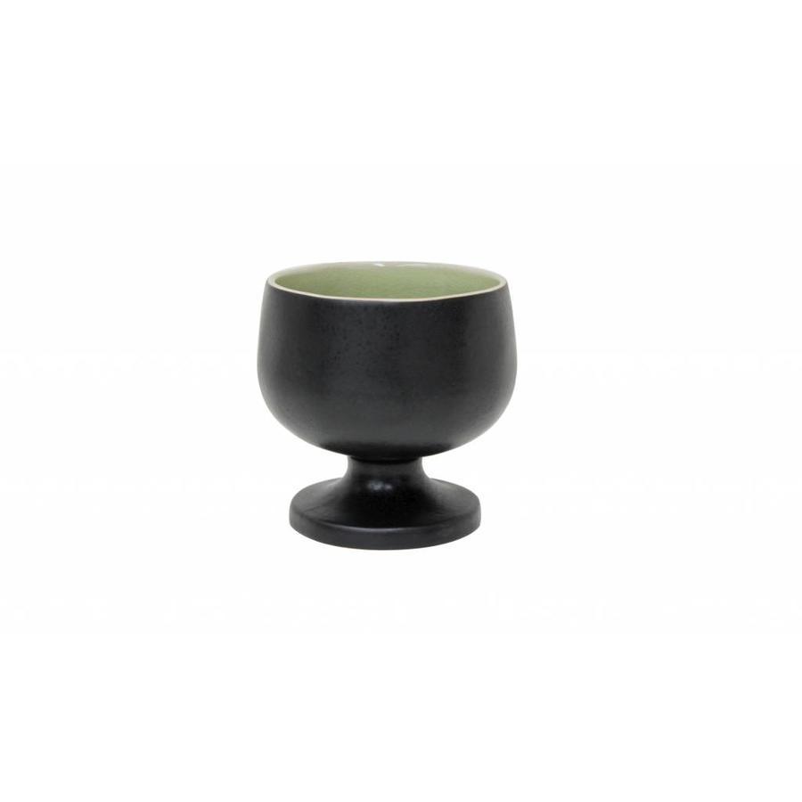 footed bowl riviera vert frais