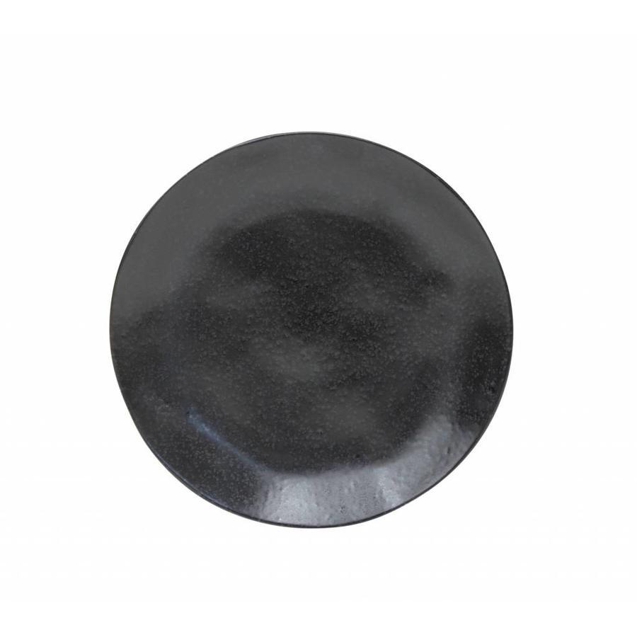 Ontbijtbord riviera sable noir 21 cm
