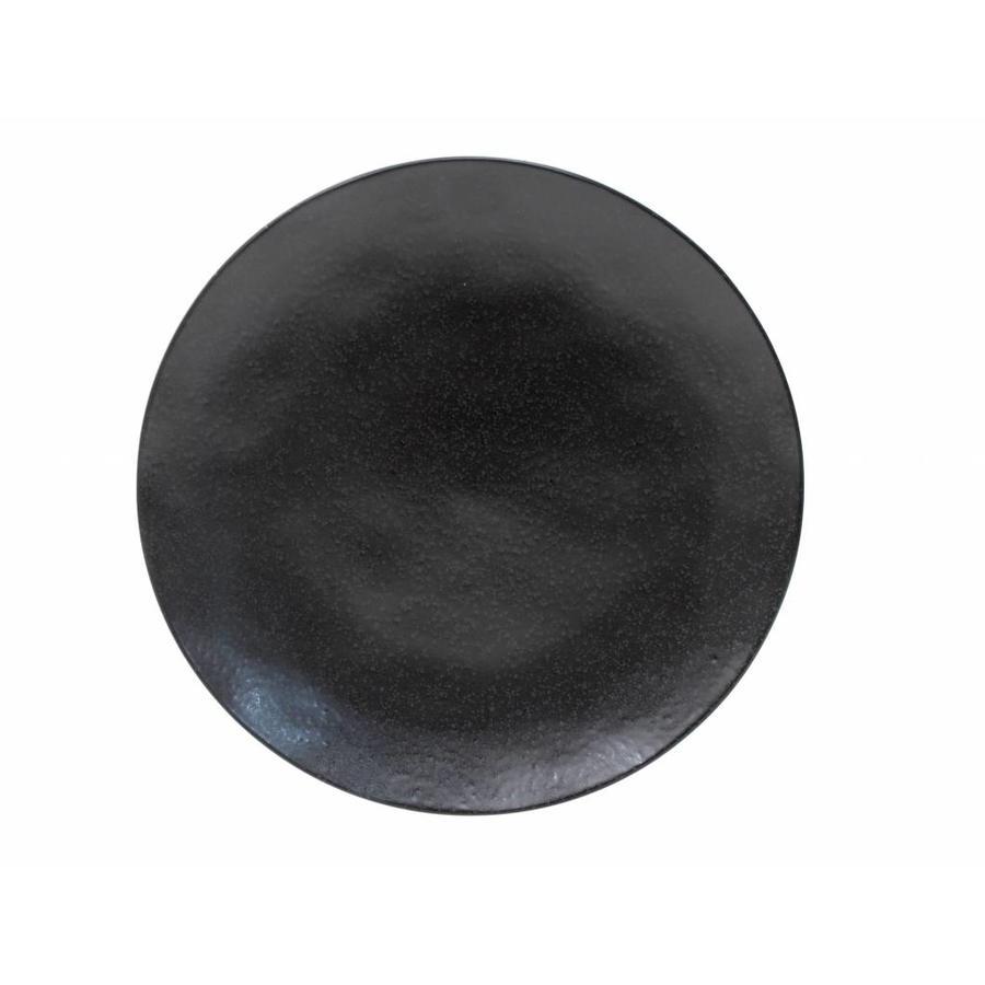 Charger plate 31 cm  riviera sable noir