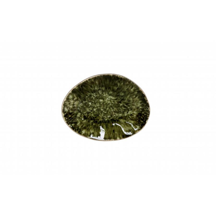 oval plate 16 cm riviera forest