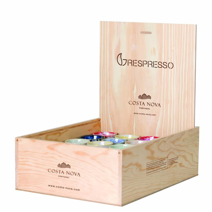 Giftbox 40 grespresso kopjes