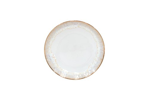 Dinerbord Taormima wit met gouden rand