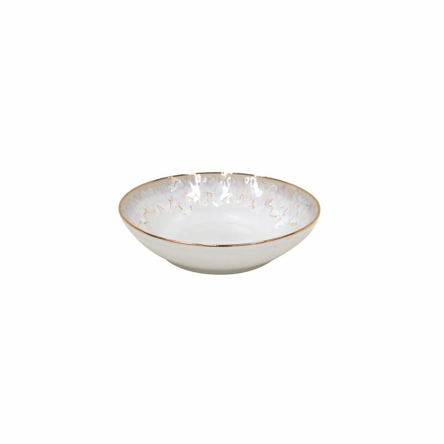 Cup & saucer Taormina white with gold rim