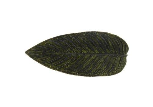 Large leaf 40 cm riviera dark green