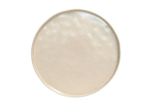 Lagoa charger plate cream