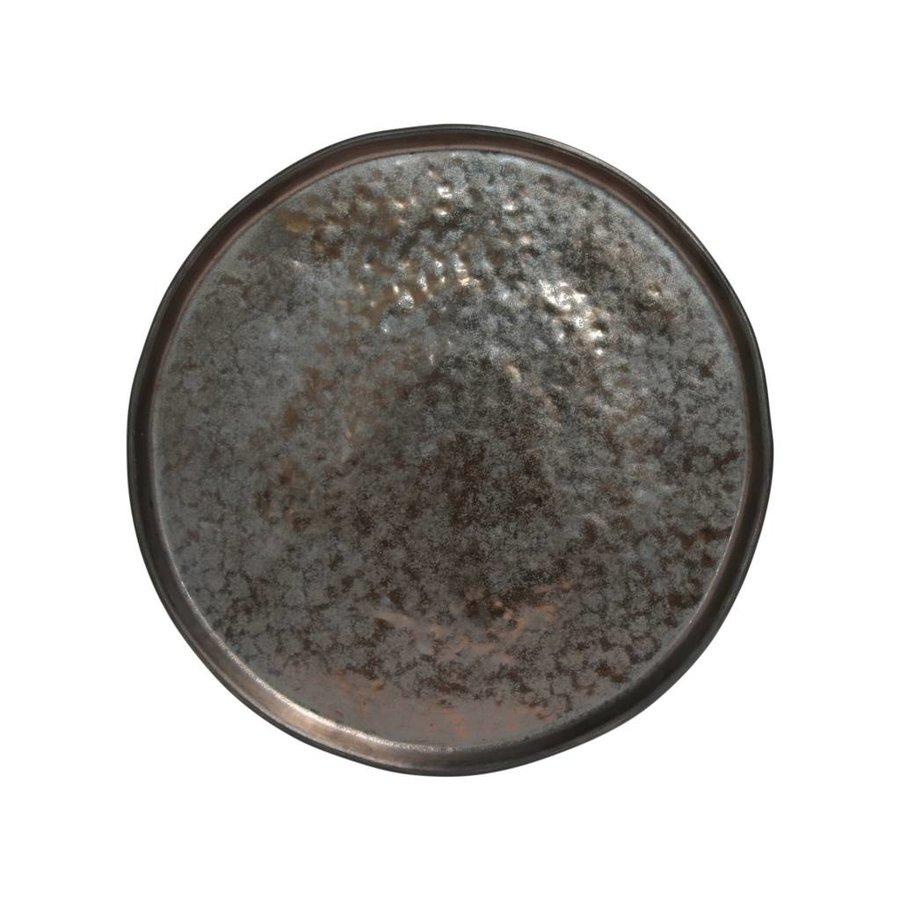 Lagoa dinner plate 27.2cm black