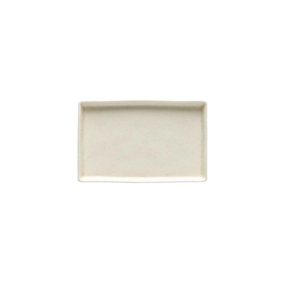 rectangle dish Lagoa cream 18.5x12