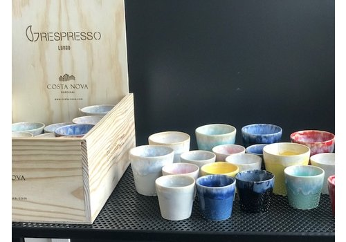 Giftbox 24 grespresso Lungo kopjes