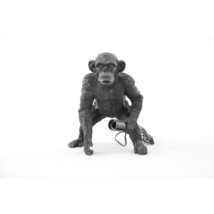 Monkey lamp gold