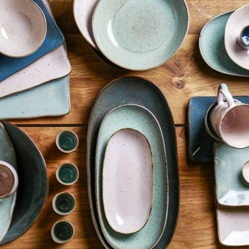 Stone tableware