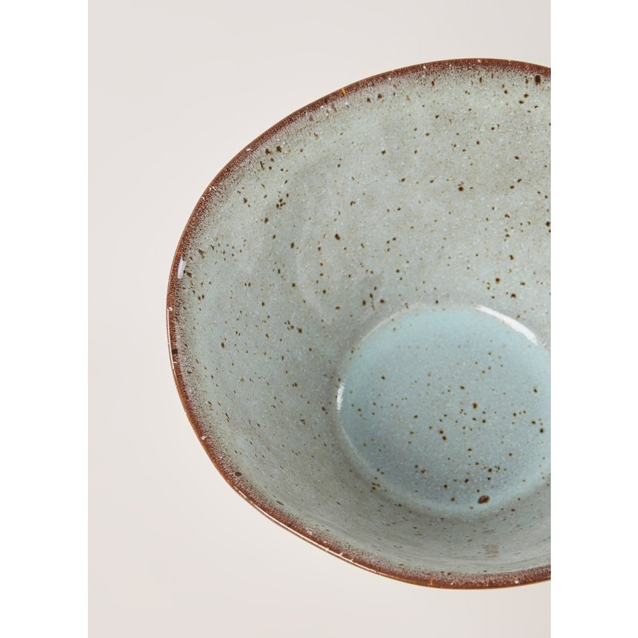 Bowl stone sea green