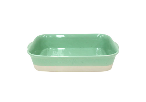 Oven dish rectangle medium Fattoria Green