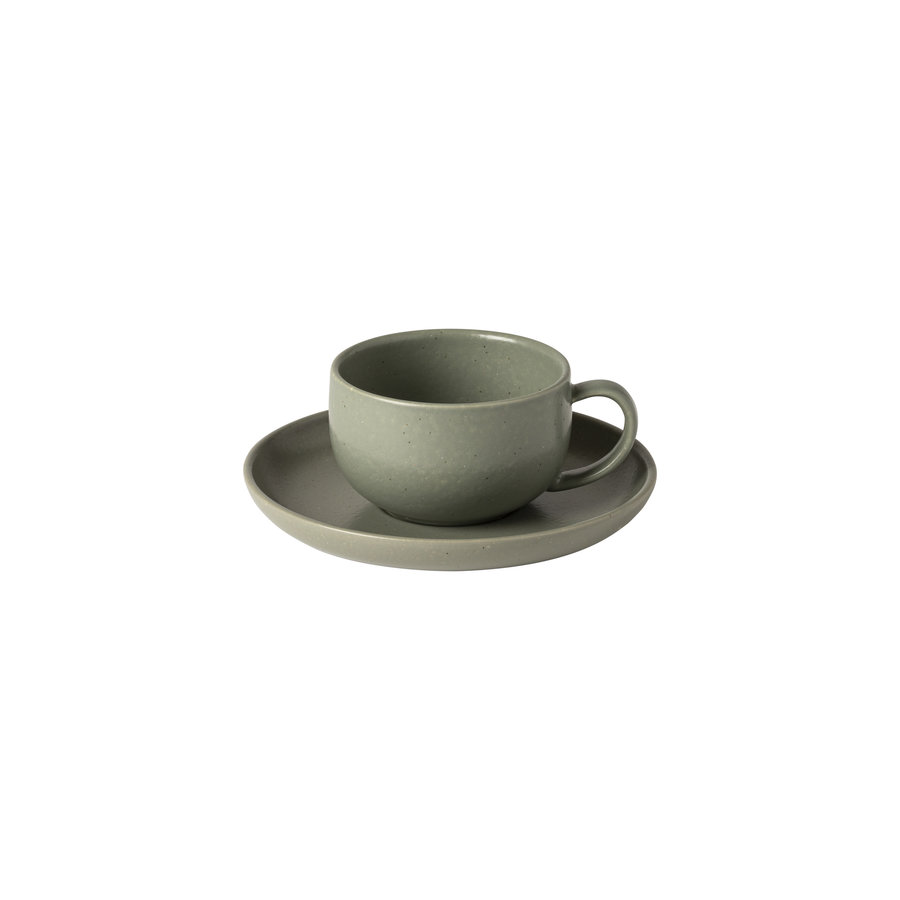 Cup & saucer Pacifica Green