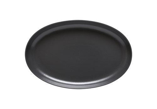Ovale schaal 41 cm Pacifica Antraciet